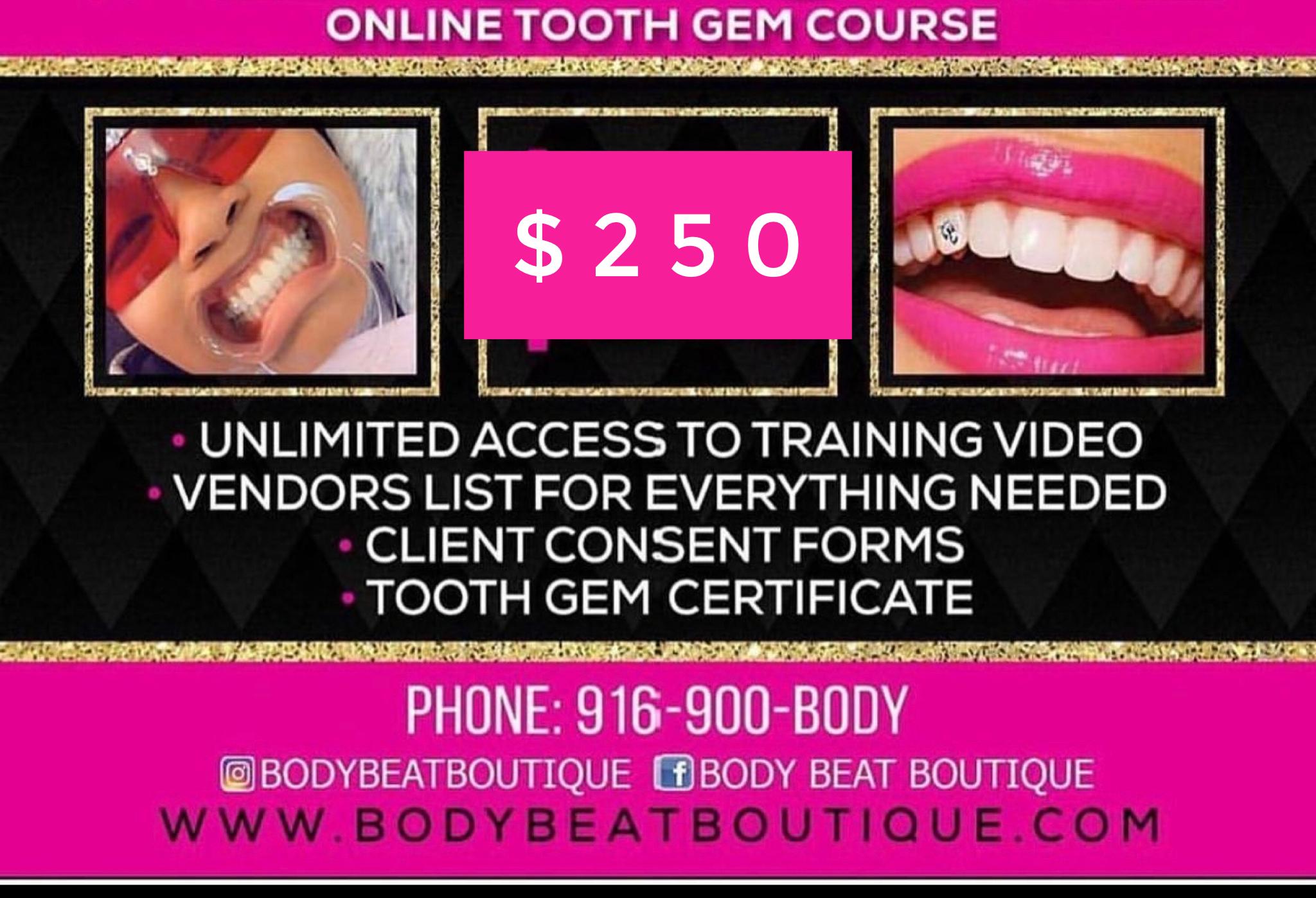 Tooth Gem Training Sale