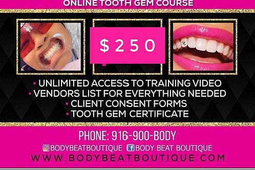 Tooth Gem Training/No Kit