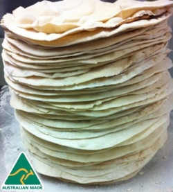 pizze bases tower!!