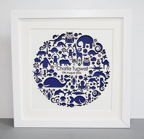 Personalised Animal Circle