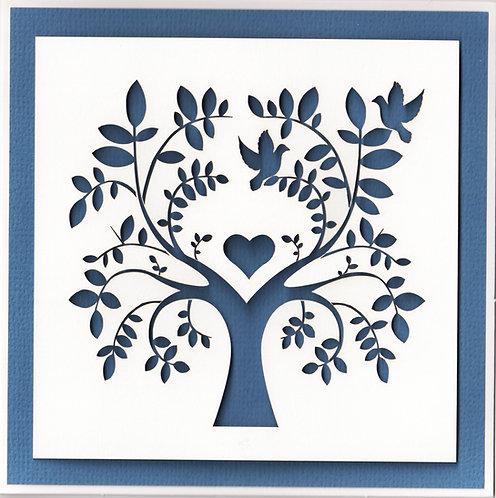 Dove Tree Card