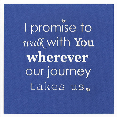 I Promise Card