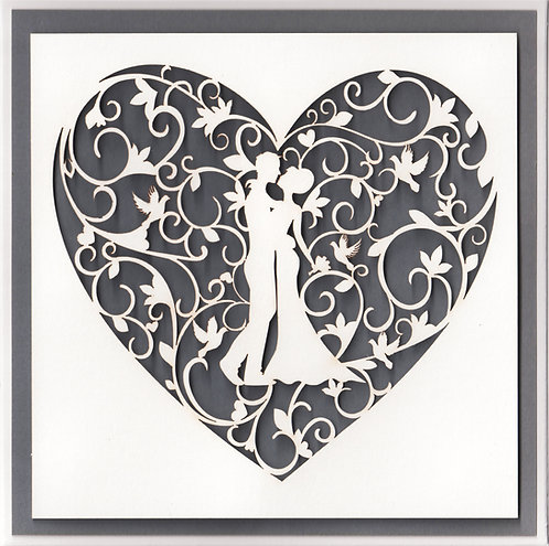 Wedding Heart Card