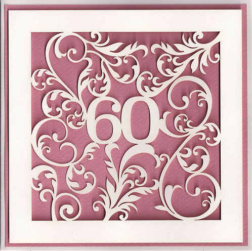 Age 60 Card