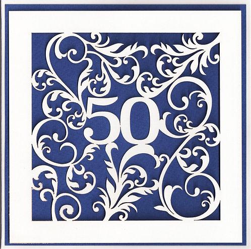 Age 50 Card