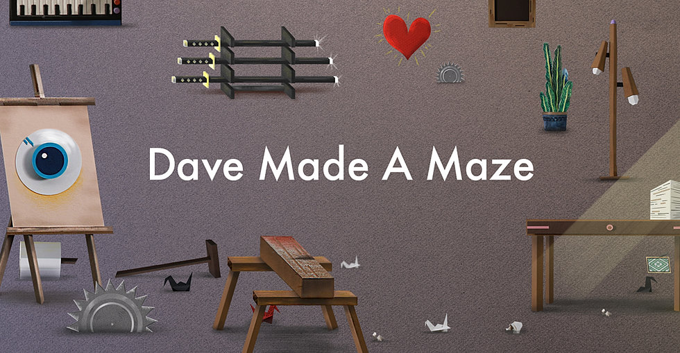 Image result for dave made a maze