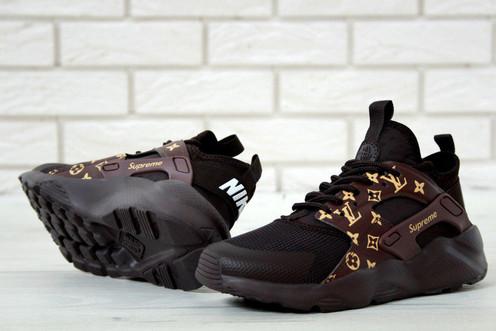 15864cf8 Кроссовки Nike Air Huarache Ultra х Supreme х Louis Vuitton - модель,  вызывает восхищение. Стиль, комфорт, стремительность - вот характерные  особенности Air ...