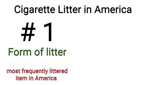 Cigarette Litter in America