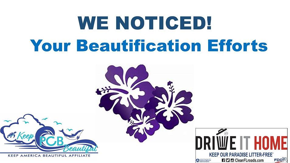 WE NOTICED!flowers.jpg