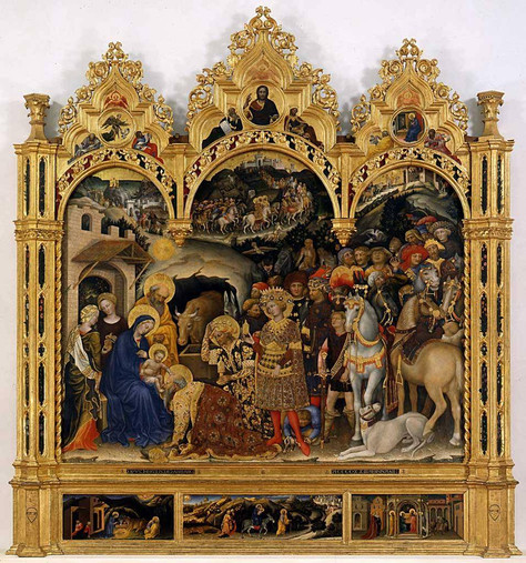 Gentile da Fabriano - Adoration of the Magi, 1423