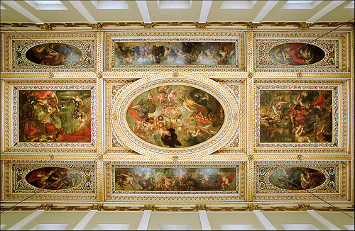 The Banqueting House Ceiling - Peter Paul Rubens (c.1633)