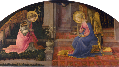 Fra Filippo Lippi - The Annunciation (c. 1450): An Extraordinary Story