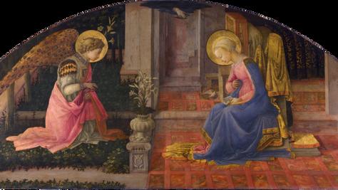 Fra Filippo Lippi - The Annunciation (c. 1450): An Extraordinary Story