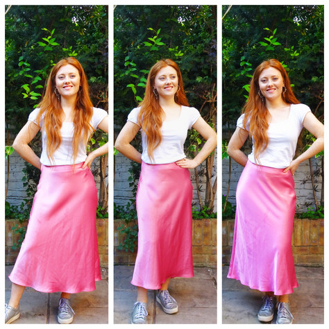 Silk Skirts: My 3 Staple Colours