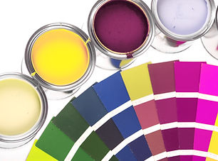 Paint Pots y la rueda de color