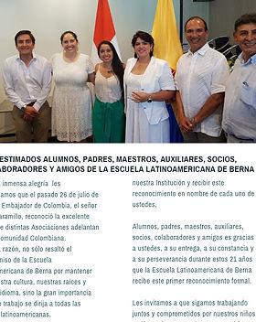 Reconocimiento Embajada Colombia.JPG