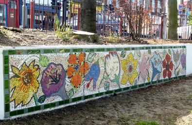 Kensal Green Pocket Park Mosaic