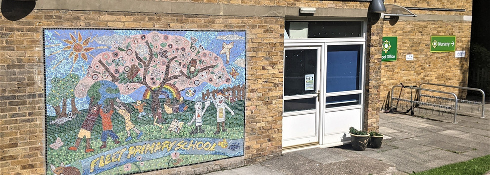 Fleet Primary School Mosaic 2021