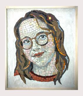PORTRAIT of a girl (Framed)