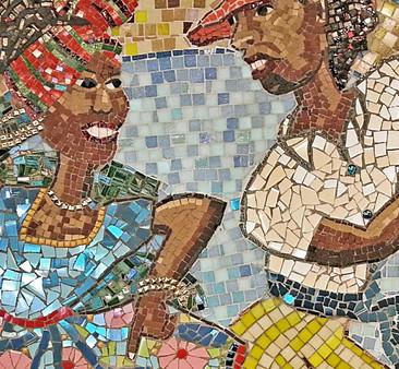 Calypso Mosaic, Pepper Pot Centre 2015
