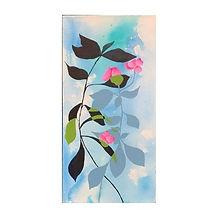 Shadow Leaf Acrylic 10x20