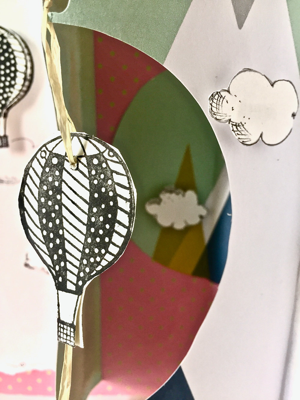 Details Heißluftballonkarte
