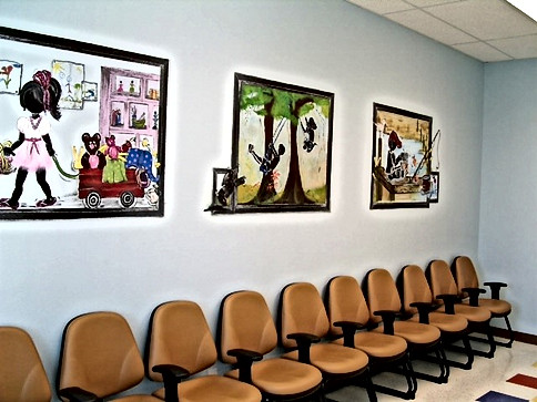 Pediatric lobby