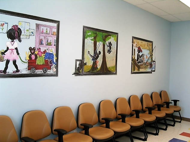 Pediatric lobby