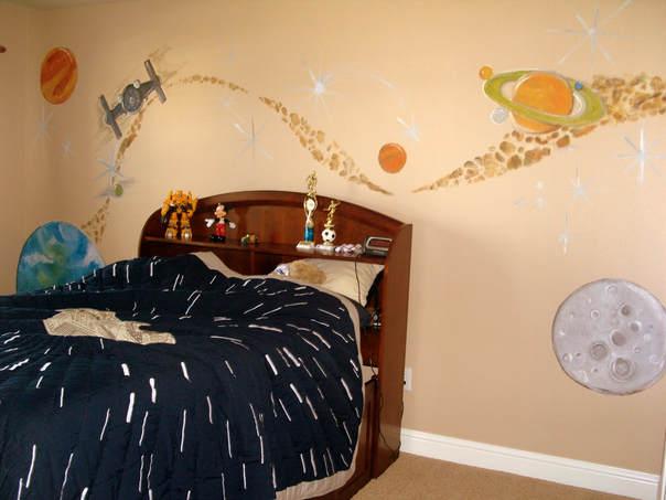 Star-wars bedroom