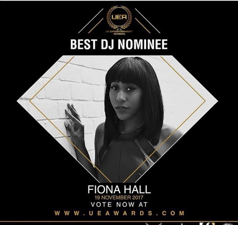 Fiona Hall - Best DJ Nominee