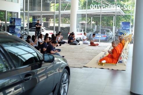 จัดงานทำบุญ BMW รามอินทรา