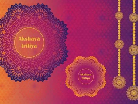 Akshaya Tritya - Auspicious Holiday