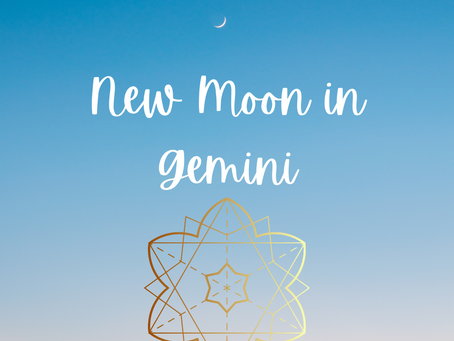 New Moon in Gemini - Sidereal Zodiac