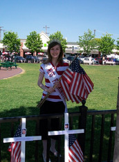 Miss Farmington 2009 at an event in the Farmington Pavilion
