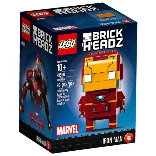 les figurines construire lego brickheadz tapportent une nouvelle faon de collectionner de construire et dexposer des personnages clbres de tes films - Jeux D Iron Man