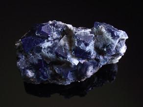 Daylight fluorescent fluorite from the 2020 Milky Way pocket, Diana Maria mine, England