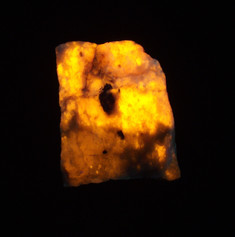 LW, MW & SW tenebrescent hackmanite - Davis Quarry, Hastings County, Ontario, Canada
