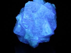 """Sugar cube"" fluorite from Var, Provence-Alpes-Côte d'Azur, France"
