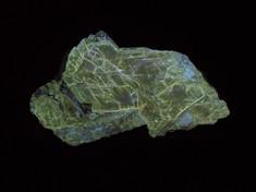 Fluorescent phlogopite, from the Papineau RCM, Outaouais, Quebec, Canada