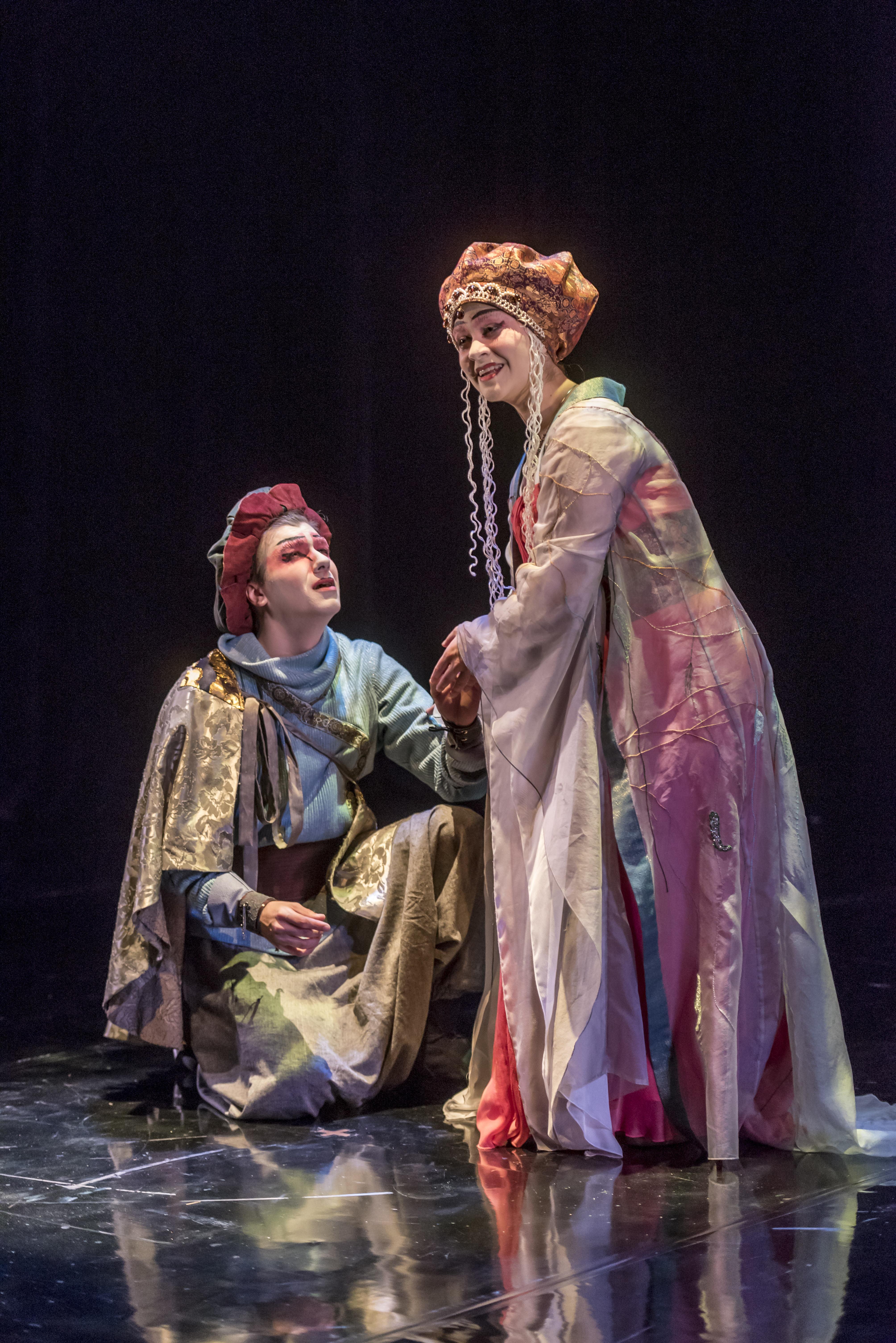 Cassio and Desdemona (Elana Weiner-Kaplow)