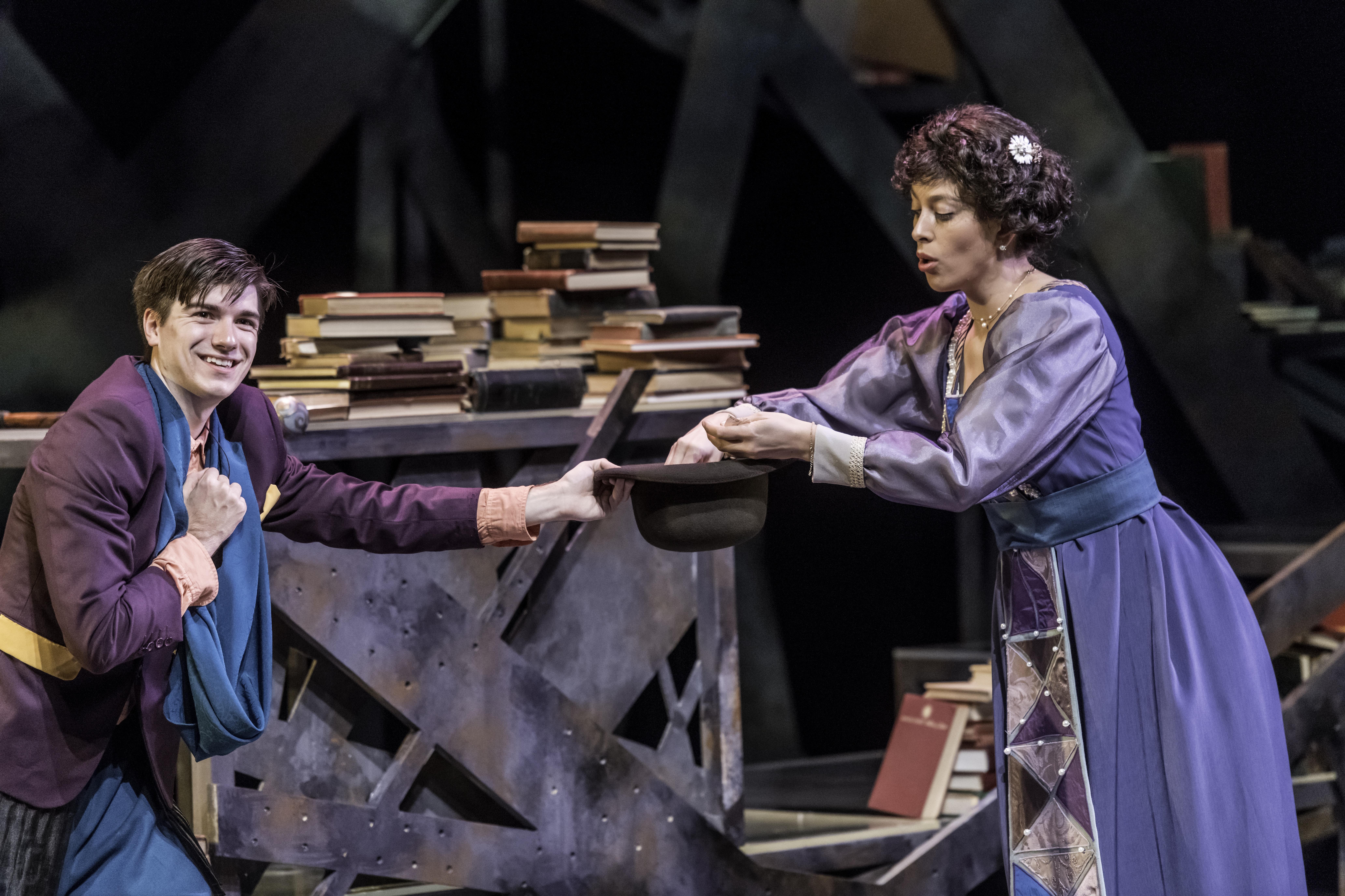 Tristan Tzara and Gwendolen (Jessica Kadish)