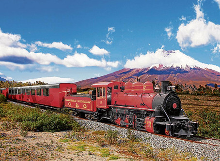 From the Pacific Ocean to the Andes of Ecuador join us on board the leading Luxury Train in south Am