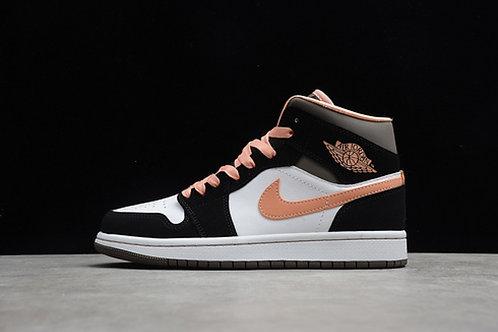 Air Jordan 1 MID - Peach Mocha