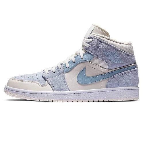 Air Jordan 1 MID - Mixed Textures Blue
