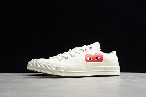 Converse Chuck Taylor 70 X Low - White Hearts