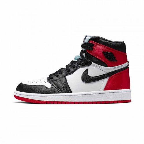 Air Jordan 1 High - Retro High Satin Black Toe