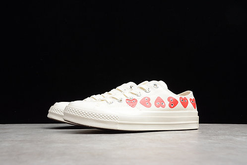 Converse Chuck TaylorAll-Star 70S Low - White Multi Heart