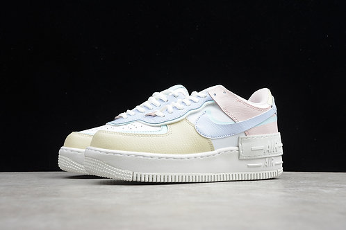 Air Force 1  Shadow - White Glacier Blue Ghost