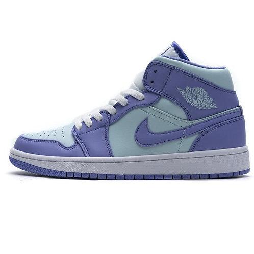 Air Jordan 1 MID - Purple Aqua