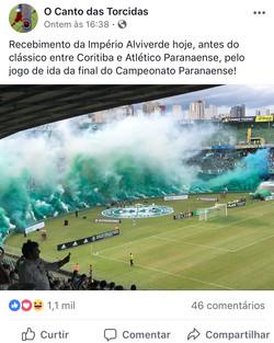 Coritiba x Atlético PR